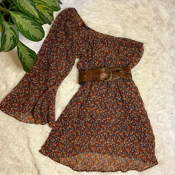 Forever 21 - Floral Dress + Belt